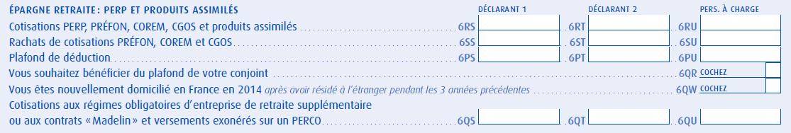 Assurance vie comment remplir sa d claration d 39 imp ts primes rachats rentes isf cofloma - Plafond revenu fiscal de reference 2014 ...